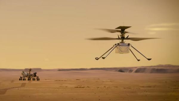 نبوغ امروز چهارمین پرواز مریخی خود را تجربه می نماید