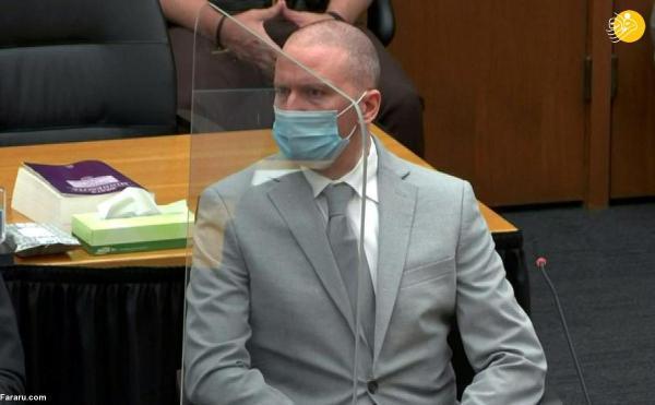 (تصاویر) دادگاه مامور پلیس قاتل جورج فلوید