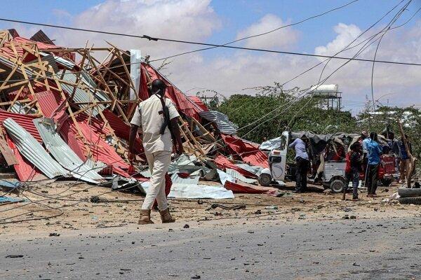 انفجار در مقر الشباب در سومالی، بیش از 60 تروریست کشته شدند