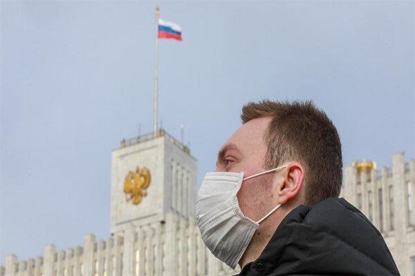 ابتلا به کرونا در روسیه رکورد زد