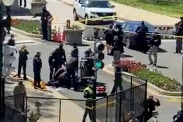 خبرنگاران پلیس به دلیل تهدیدات امنیتی اطراف ساختمان کنگره آمریکا را مسدود کرد